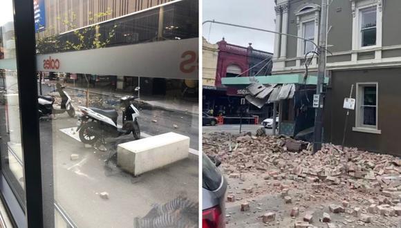 Un fuerte terremoto en Australia de 5.6 de magnitud se dio cerca a Melbourne. (Foto: Twitter @1FightingIrish / @henriettacook)
