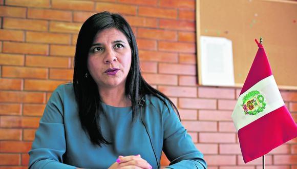 Silvana Carrión asumió la Procuraduría ad hoc del caso Lava Jato y asegura que tiene el respaldo de Daniel Soria. (Foto: GEC)