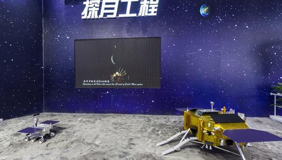 China tiene previsto enviar el año entrante su explorador Chang'e 5, que regresaría con muestras a la Tierra. (Foto: EFE)