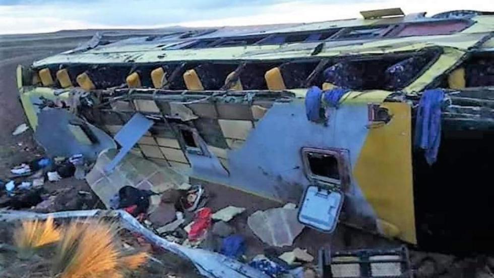 El Poder Judicial dictó nueve meses de prisión preventiva contra el chofer del bus de la empresa de transporte 'Tour Yunguyo'. (Foto: Ministerio Público)