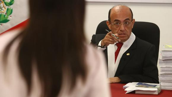 Víctor Zúñiga Urday ha superado diversas recusaciones presentadas por investigados del caso 'cocteles'. (Foto: Alessandro Currarino/GEC)