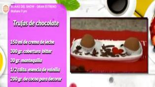 Postres: Aprende a hacer deliciosas y fáciles trufas de chocolate
