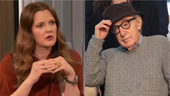 """Drew Barrymore lamentó haber trabajado con Woody Allen en la película """"Todos dicen 'I Love You'. (Foto: Captura de video/AFP-ANDER GILLENEA)"""
