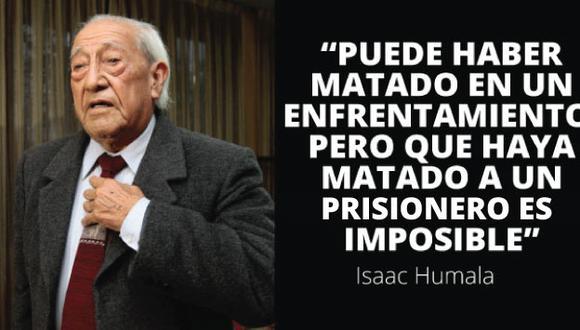 """El patriarca de los Humala: """"Para mí hay la convicción de que él no es un asesino"""""""