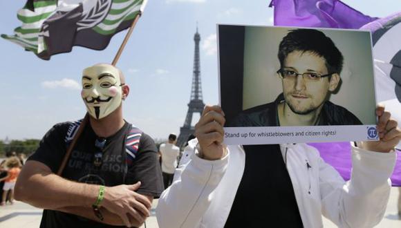 Washington en apuros tras revelaciones de Edward Snowden. (AFP)