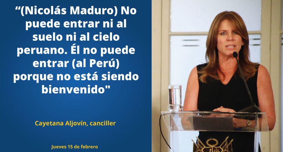 Cayetana Aljovín.