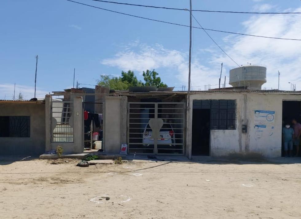 El feroz ataque ocurrió en el frontis de una vivienda del distrito de Castilla, en Piura. (Foto: GEC)