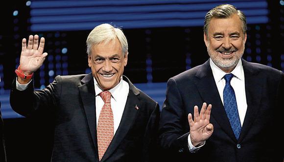 Chile: Sebastián Piñera y Alejandro Guillier enfrentados en elecciones. (USI)