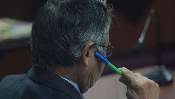 AL MARGEN. Según la defensa, el pedido de indulto humanitario no se ha conversado con Fujimori. (Martín Pauca)