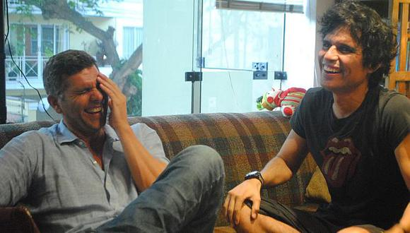 Ambos disfrutaron de una tarde y recordaron el pasado. (Facebook Oficial de Pedro Suárez-Vértiz)