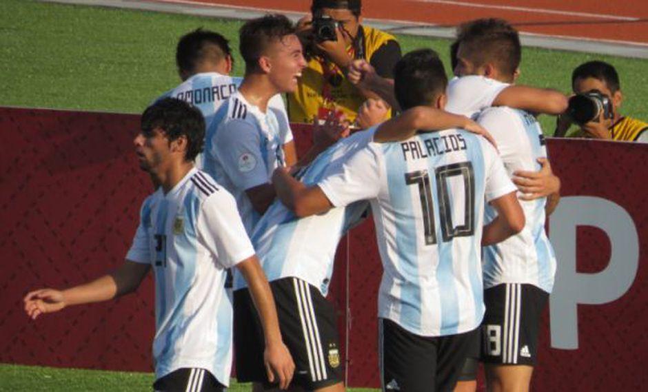Argentina necesita una última victoria en el hexagonal final del Sudamericano Sub 17 para conquistar el título del certamen. Ecuador busca el milagro. (Foto: @Argentina)