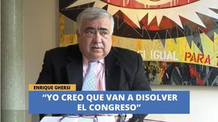 Enrique Guersi cree que van a disolver el congreso