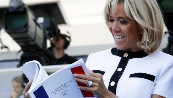 Francia: Brigitte Macron dará clases de literatura para adultos sin empleo. (AFP)