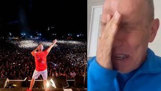 Raúl Romero comparte emotivo video con sus seguidores por su regreso a los escenarios
