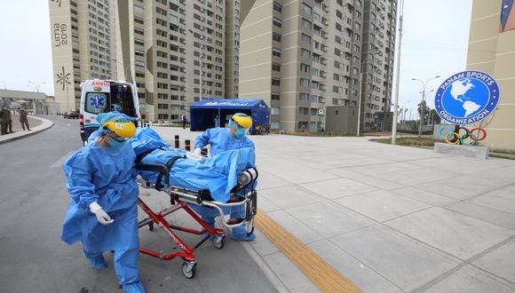 Villa Panamericana fuenimplementada para atención de pacientes con COVID-19. (Foto: Difusión)