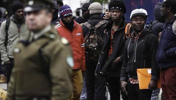 En abril, el gobierno de Chile determinó imponer a los haitianos una visa de turismo. | Foto: EFE