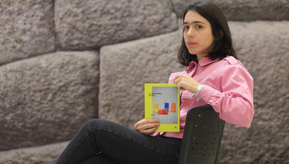 Autora chilena Constanza Gutiérrez presentó 'La educación básica', una reunión de sus cuentos. (Fotos: Jéssica Vicente).