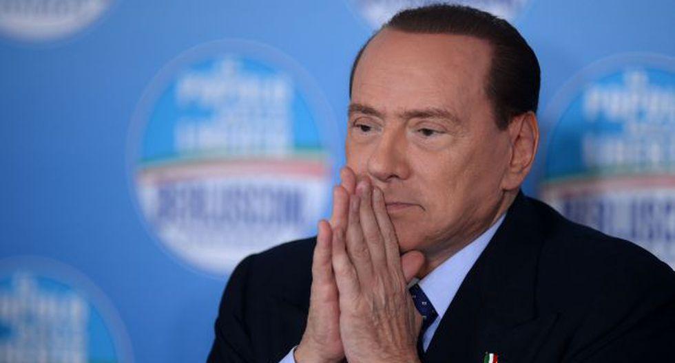 Silvio Berlusconi es hospitalizado por insuficiencia cardíaca. (AFP)
