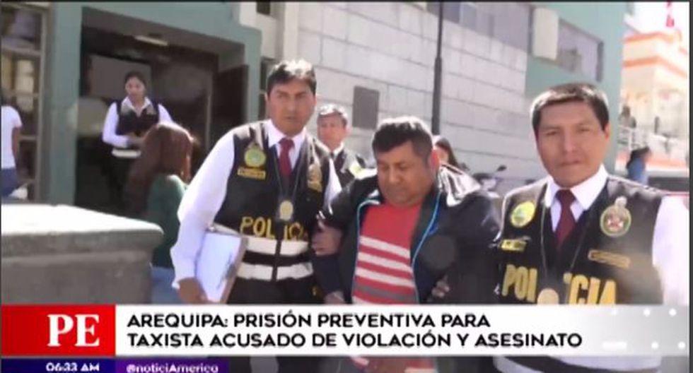 El Poder Judicial ordenó nueve meses de prisión preventiva por los delitos de violación y homicidio calificado. (Video: América TV)
