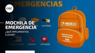 Simulacro Nocturno Familiar: ¿qué elementos debe contener la mochila para emergencias y cómo prepararla adecuadamente?