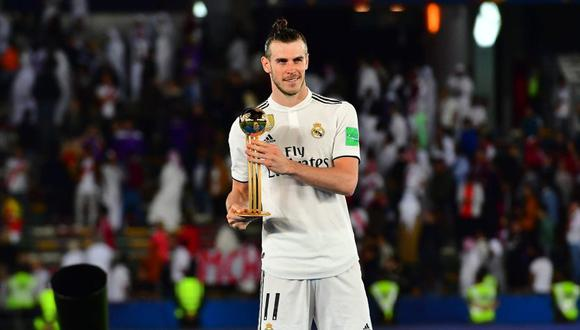 Gareth Bale, el mejor jugador del Mundial de Clubes 2018 (Foto: AFP).