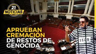 Pleno aprueba cremación de genocida Abimael Guzmán