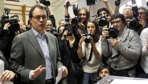 Líder catalán no lo logró. (Reuters)