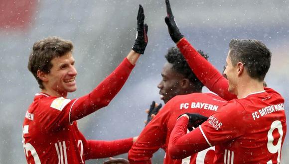 Bayern Munich consiguió su noveno título de Bundesliga esta temporada. (Foto: EFE)