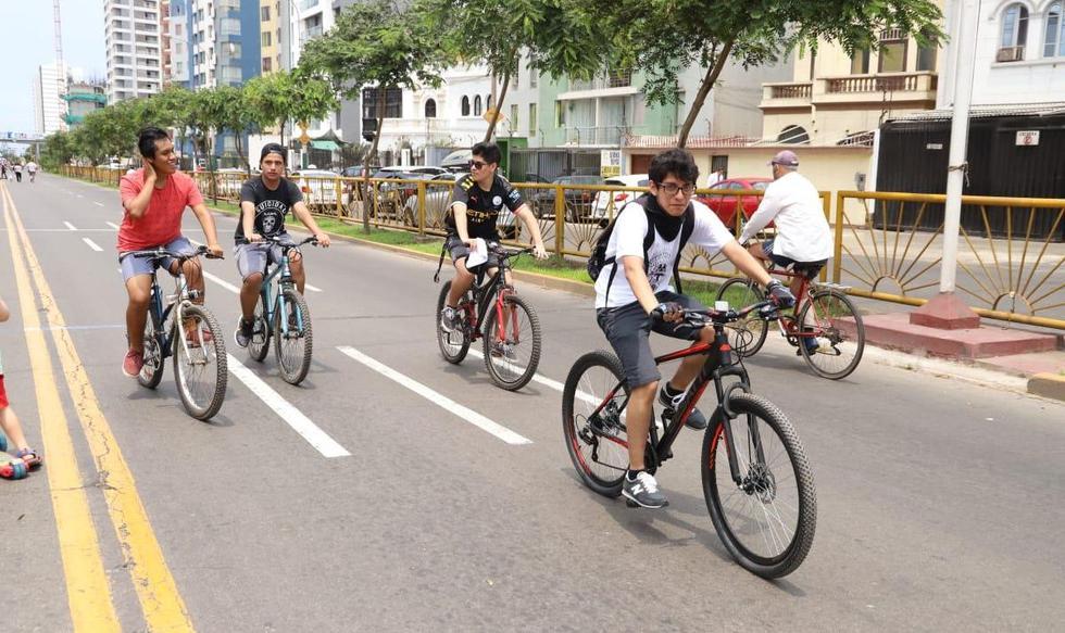 Alcalde de Magdalena del Mar propone que actividades deportivas se realicen en la avenida Brasil. (Foto: Municipalidad de Magdalena)