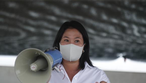 Fujimori Higuchi indicó que no se puede permitir que se compita con el Estado y se lucre con las vacunas. (Foto: Archivo/GEC)