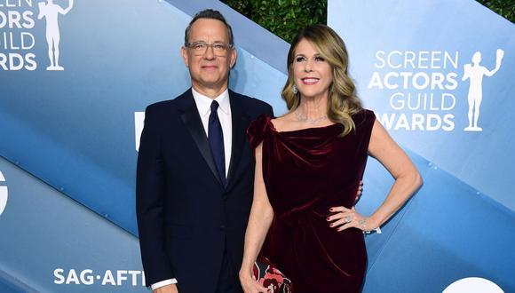 Esposa de Tom Hanks reveló que aún tiene anticuerpos contra el COVID-19. (Foto: AFP)
