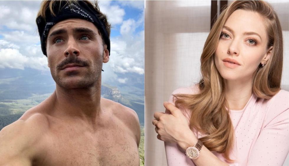 Zac Efron y Amanda Seyfried interpretarán a 'Fred' y 'Daphne' en la nueva película de Scooby Doo. (Foto: Composición / Instagram)