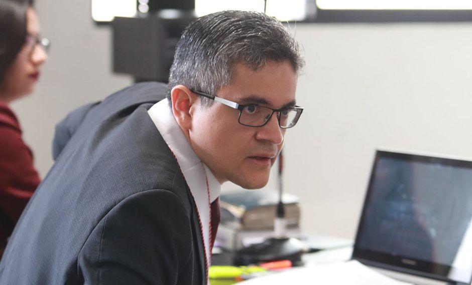 El fiscal José Domingo Pérez informó el último jueves sobre la ampliación de la investigación preliminar contra el ex mandatario Alan García. (Foto: USI)