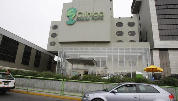 Estudiante es tratado en Clínica Ricardo Palma. (USI)