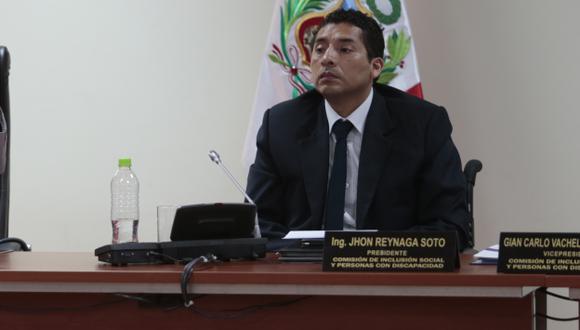 Bajo la lupa. John Reynaga es investigado por Ética del Congreso por presuntos nexos con constructora. (USI)
