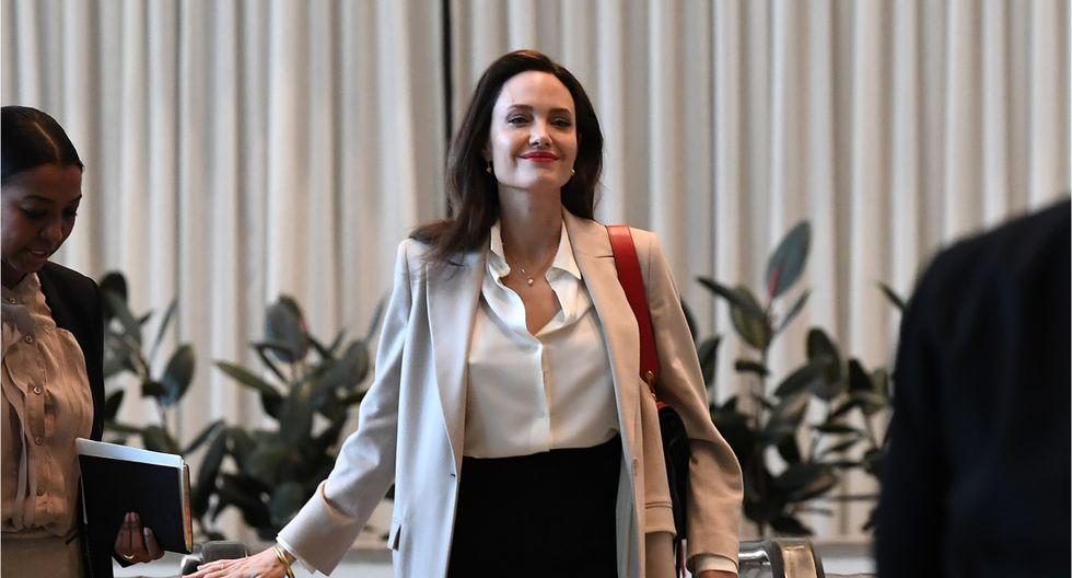 Angelina Jolie se une a la tendencia de los influencers y pretende dar un mensaje muy positivo con sus videos. (Foto: AFP)