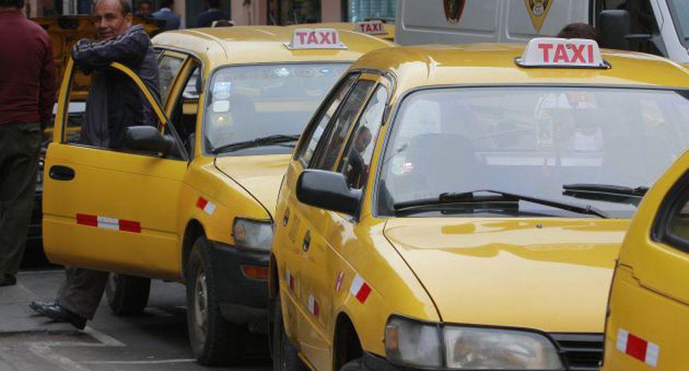 Taxistas son extorsionados. (USI)