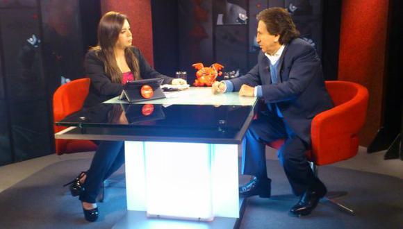 CATARSIS. Toledo reveló ante Milagros Leiva entretelones de la campaña electoral en la que perdió. (Internet)