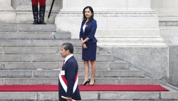 Nadine Heredia asegura que todo se trata de una venganza política. (Rafael Cornejo)