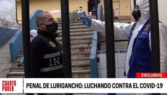 Agentes del INPE también pasan por la evaluación de los reos del penal de Lurigancho. (Cuarto Poder)