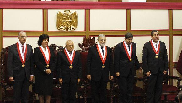 El Tribunal Constitucional (TC) escuchó, a fines de agosto, a las partes demandantes y demandada por la ley de publicidad estatal. (Foto: USI)
