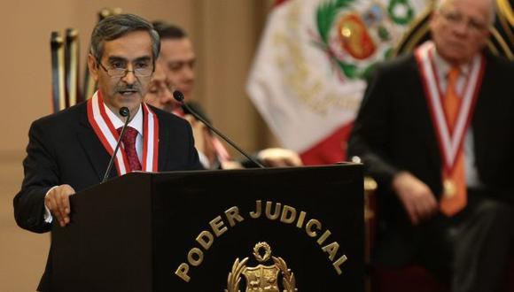 Duberlí Rodríguez es uno de los candidatos para reemplazar a César San Martín en la Corte Suprema. (Rafael Cornejo)