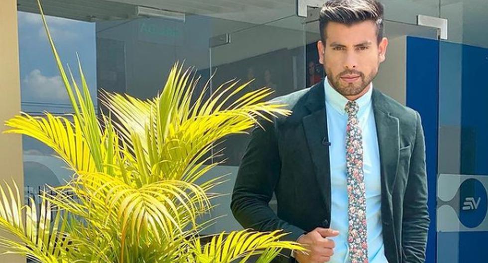 Imagen de Efraín Ruales, presentador de 27 años del canal local Ecuavisa. (Foto: Instagram/Efraín Ruales).