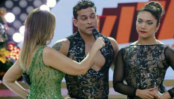 Christian Domínguez discute con Gisela Valcárcel en Reyes del Show. (USI)