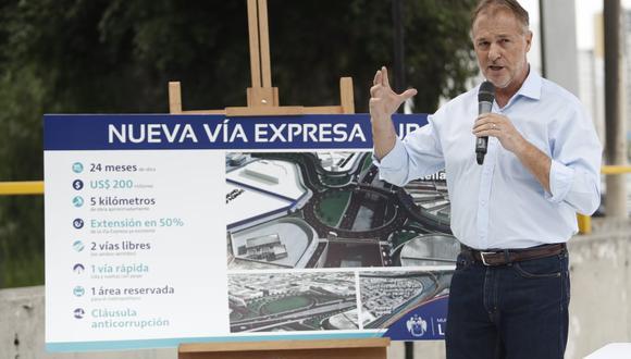 Alcalde Jorge Muñoz anunció el reinicio del proyecto para la ampliación de la vía expresa de Paseo de la República hasta la carretera Panamericana Sur. (Fotos: César Campos)