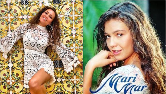 La cantante mexicana no dudó en recordar una de sus mejores épocas. (Foto: Composición)