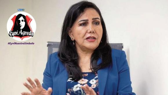 Gloria Montenegro destacó el papel de Perú21 en la lucha contra la violencia hacia la mujer. (JoséRojas)