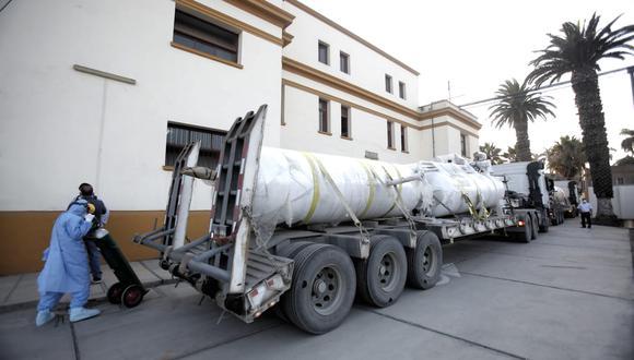 Donan planta de generación de oxígeno para Hospital Loayza en medio de la pandemia por COVID-19. (Foto: César Grados /@photo.gec)