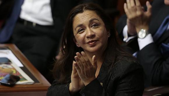 Excongresistas del Partido Nacionalista critican denuncia contra Marisol Espinoza. (Anthony Niño de Guzmán/Perú21)