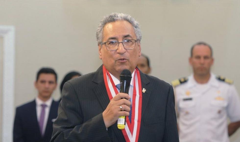 José Luis Lecaros asumirá como presidente del Poder Judicial. (GEC)